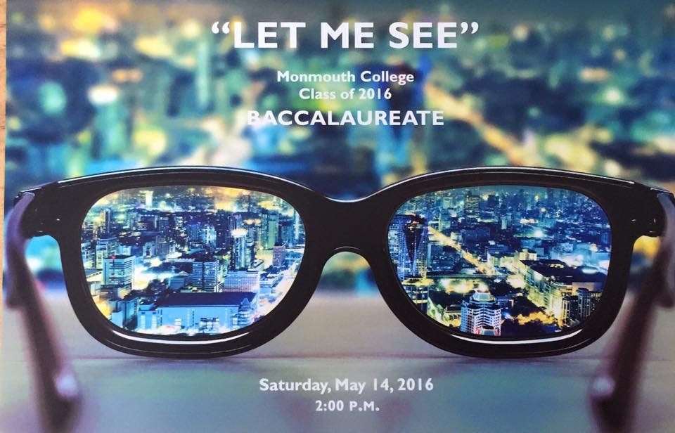 Let Me See–A Baccalaureate Sermon | Something to Say